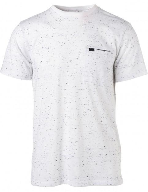 Rip Curl Undercurrent Vaper Cool Short Sleeve T-Shirt in White