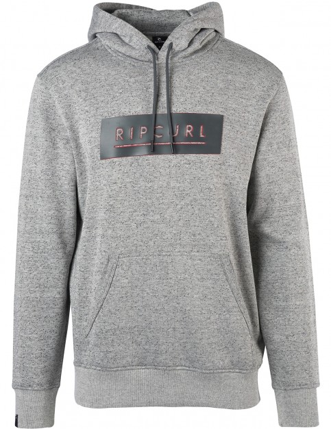 Rip Curl Underline Pullover Hoody in Cement Marle