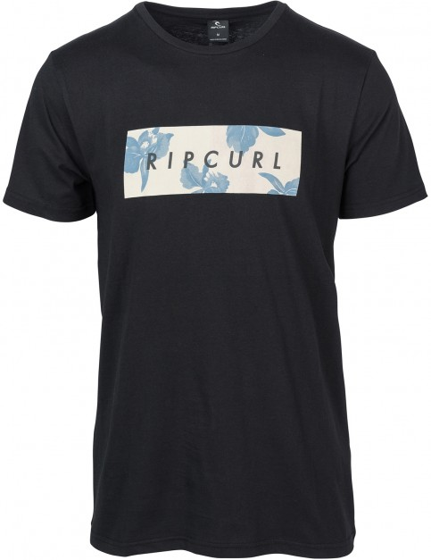 Rip Curl Undertone Yard Short Sleeve T-Shirt in Black