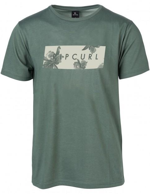 Rip Curl Undertone Yard Short Sleeve T-Shirt in Green