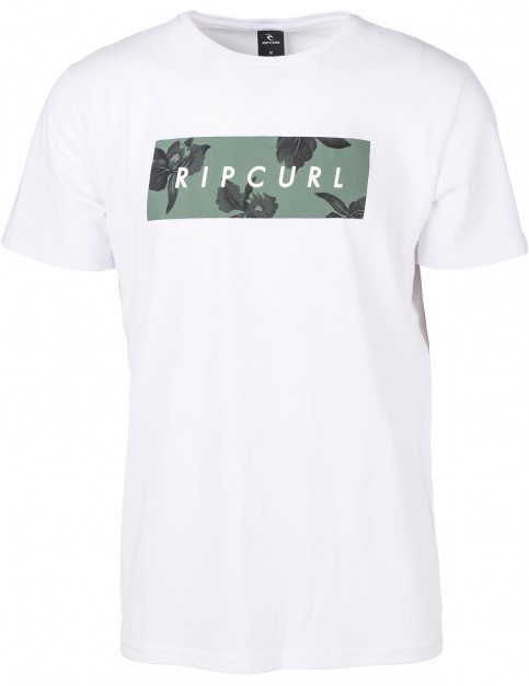 Rip Curl Undertone Yard Short Sleeve T-Shirt in Optical White