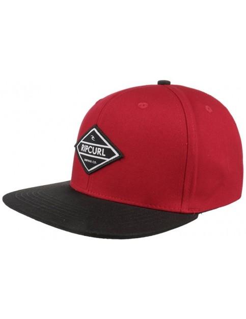 Rip Curl Undertow Diamond Snap Cap in Red