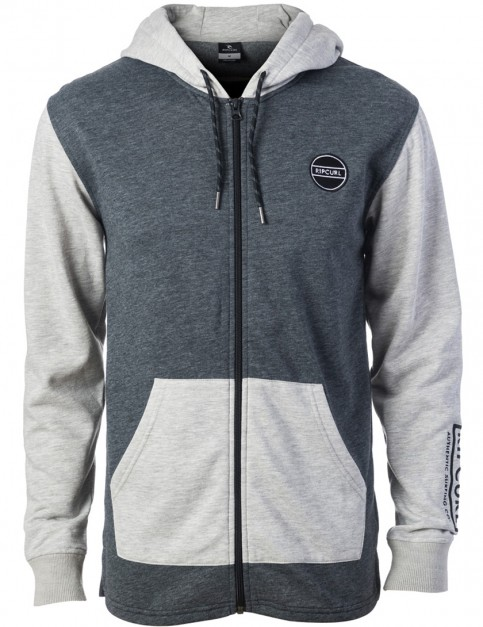 Rip Curl Undertow Zipped Hoody in Dark Marl