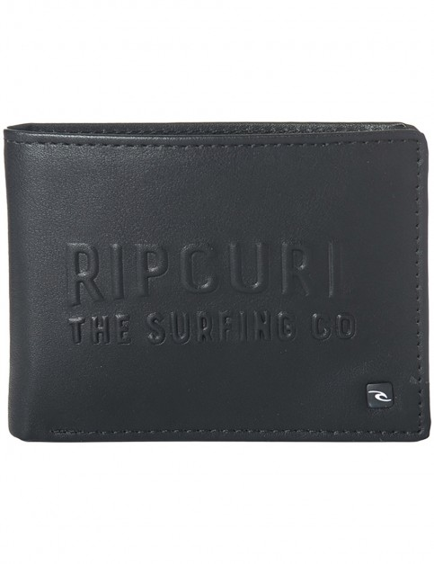 Rip Curl Up North PU All Day Faux Leather Wallet in Black