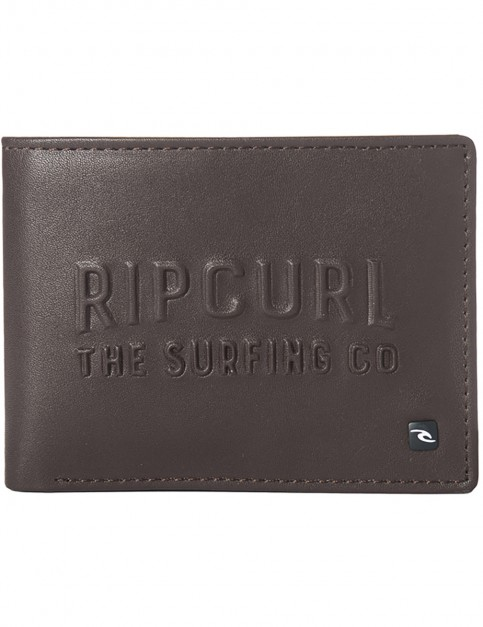 Rip Curl Up North PU All Day Faux Leather Wallet in Brown