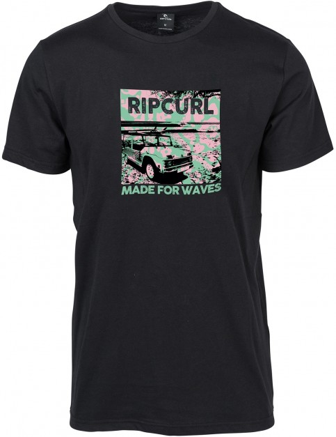 Rip Curl Wagon Short Sleeve T-Shirt in Phantom