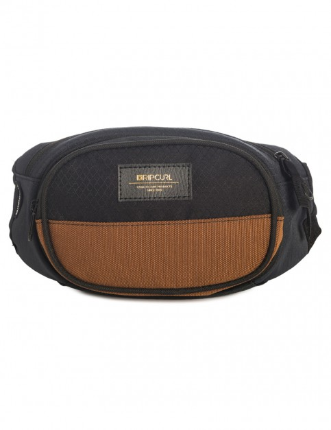 Black Rip Curl Waistbag Stacka Bags