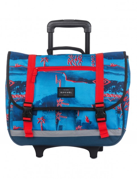 Rip Curl Wheeled Satchel Poster Vibes Messenger Bag in Blue
