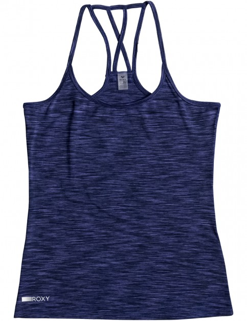 Blue Depths Roxy Any Weather Tank 2 Sleeveless Top