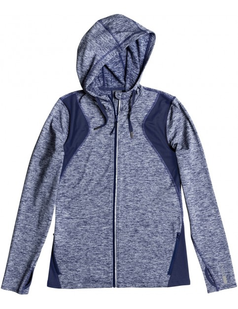 Roxy Baylee Fleece Jacket in Blue Depths