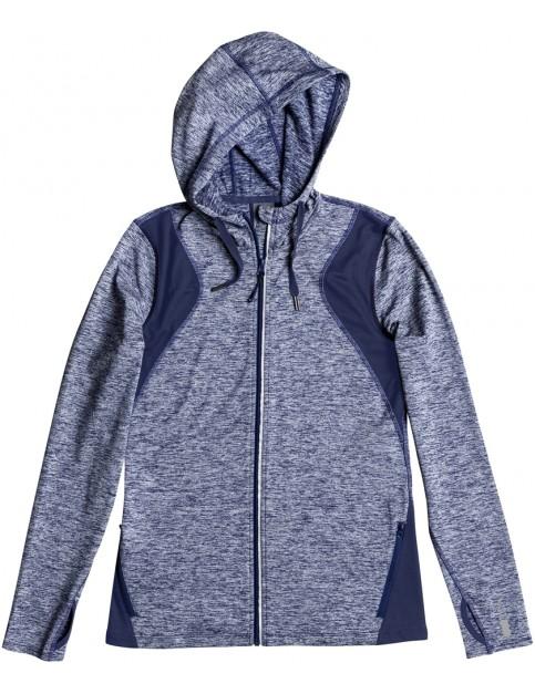 Roxy Baylee Fleece Jacket in Blue Depths