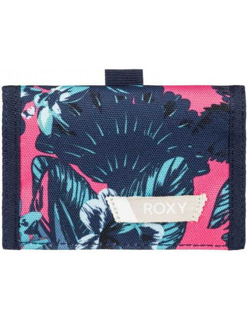 Roxy Beach Glass Polyester Wallet in Rouge Red Mahna Mahna