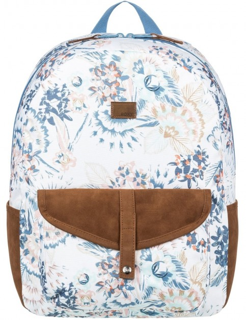 Roxy Carribean Backpack in Marshmallow Mahna Mahna