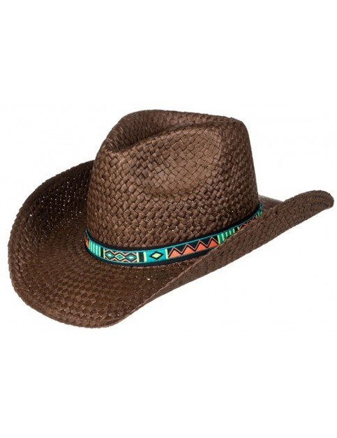 Roxy Cowgirl Sun Hat in Brown