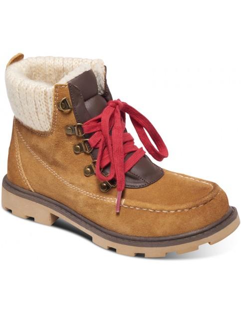 Roxy Creston Fashion Boots in Tan