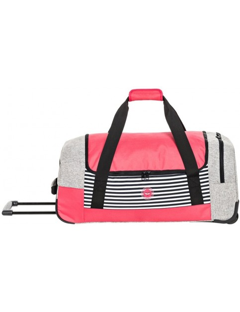 Roxy Distance Across Wheeled Luggage in Heritage Heather