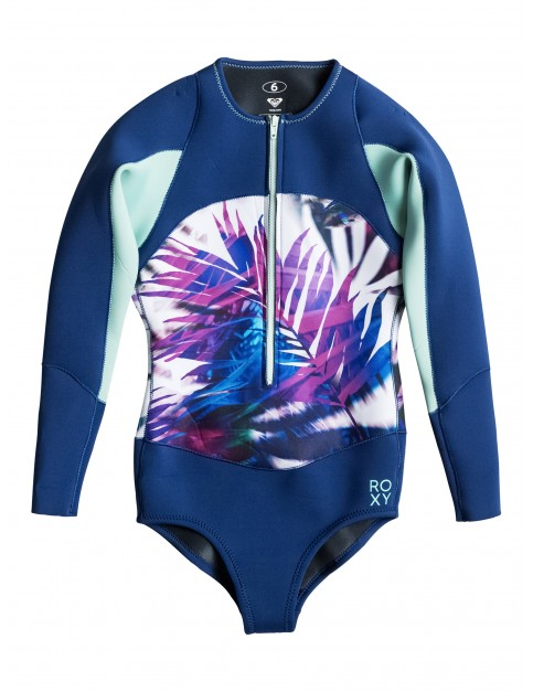 Sea Salt Jungle Times Roxy Fashion Springsuit Zip Front Onesie