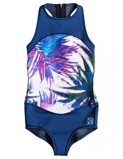 Sea Salt Jungle Times Roxy Fashion Springsuit Zip Front Onesie