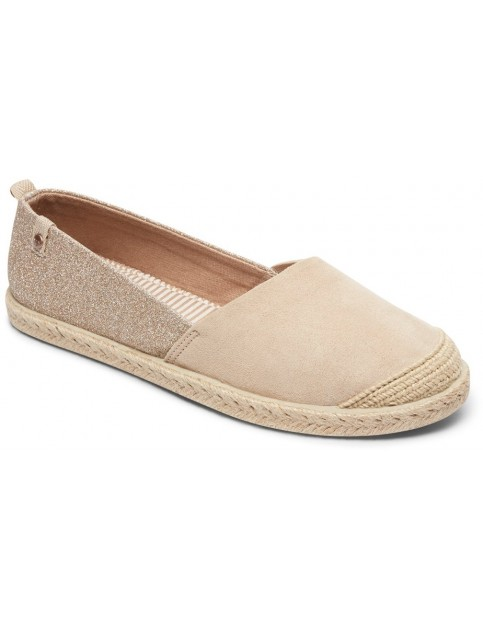 Roxy Flora II Deck Shoes in Natural