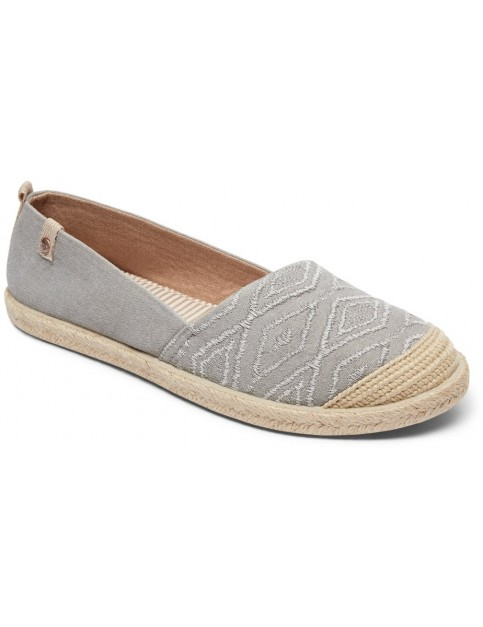 Roxy Flora II Deck Shoes in Taupe