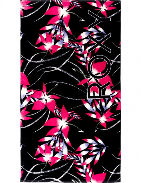 Anthracite Mystery Floral Roxy Hazy Towel