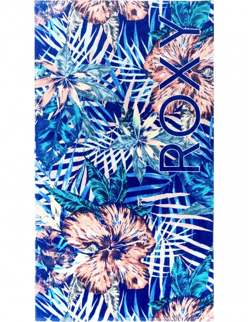 Royal Blue Beyond Love Roxy Hazy Towel