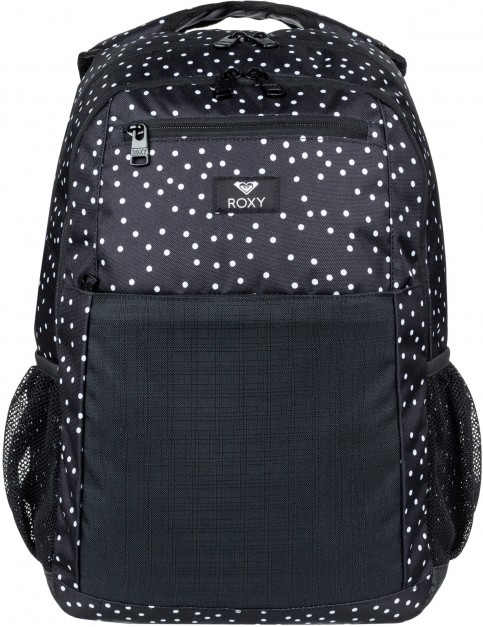 Roxy Here You Are Mix Backpack in True Black Dots For Days