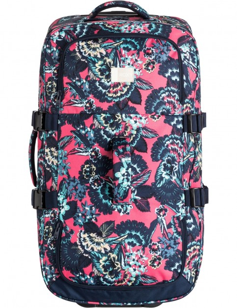 Roxy In The Clouds Wheeled Luggage in Rouge Red Mahna Mahna