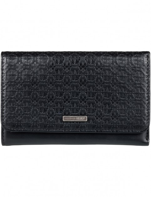 Roxy Juno Faux Leather Wallet in Anthracite