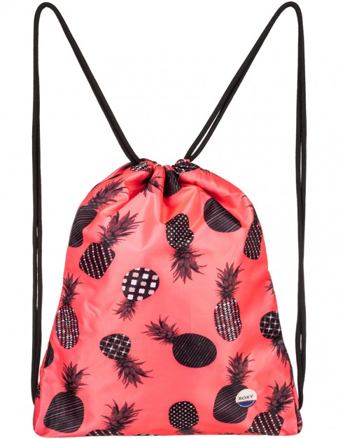 Roxy Light As A Feather Sports Bag in Ax Neon Grapefruit Pineapple Dots
