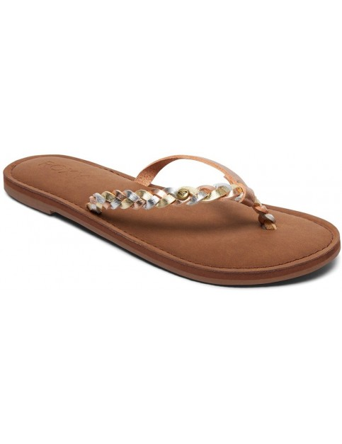 Roxy Livia Flip Flops in Multi
