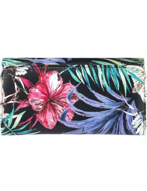Roxy My Long Eyes Faux Leather Wallet in Belharra Flower