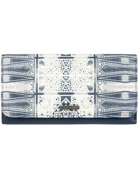 Roxy My Long Eyes Faux Leather Wallet in Chief Prado