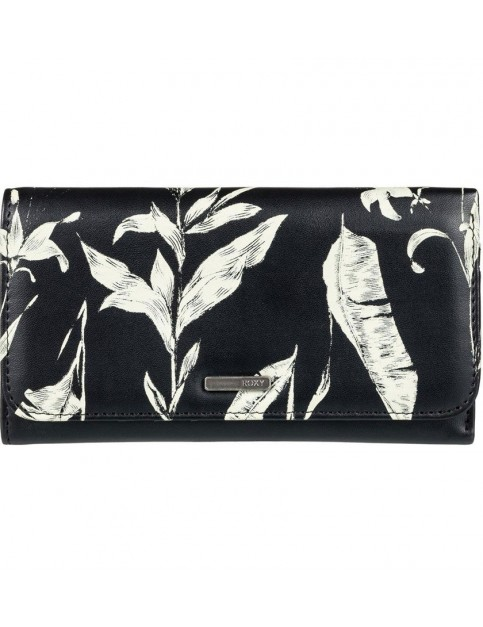 Roxy My Long Eyes Faux Leather Wallet in Love Letter