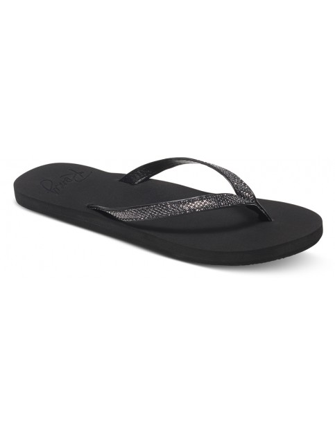Roxy Napili Flip Flops in Black