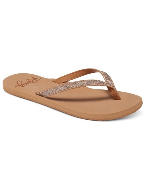 Roxy Napili Flip Flops in Tan
