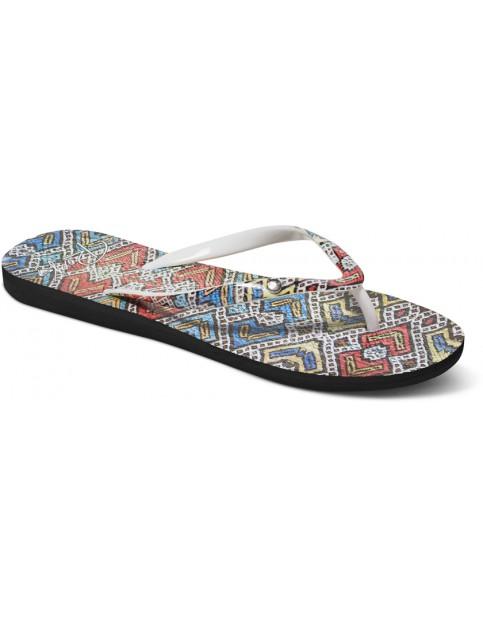Roxy Portofino Flip Flops in Multi