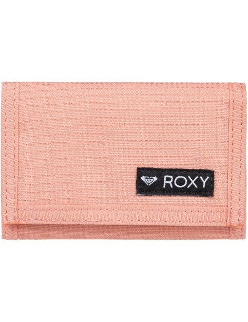 Roxy Small Beach Solid Polyester Wallet in Brandied Apricot