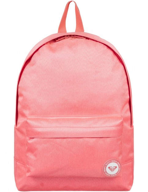 Roxy Sugar Baby Solid Backpack in Spiced Coral