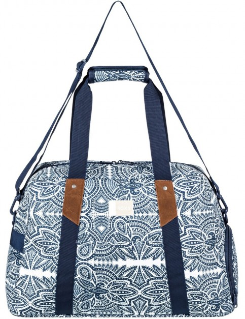 Roxy Sugar It Up Holdall in Marshmallow Tribal Vibes