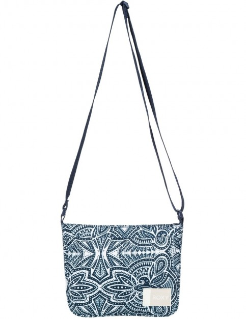 Roxy Sunday Smile Cross Body Bag in Marshmallow Tribal Vibes