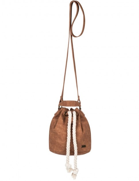 Roxy The Only Thing Cross Body Bag in Camel
