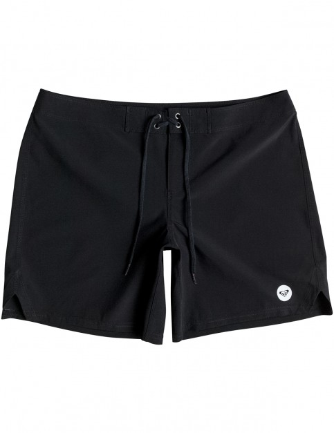 Roxy To Dye 7inch Mid Length Boardshorts in Anthracite