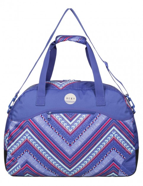 Roxy Too Far Holdall in Vertical Arrow Chambray