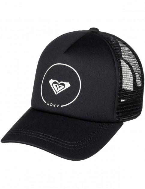 Roxy Truckin Cap in Anthracite