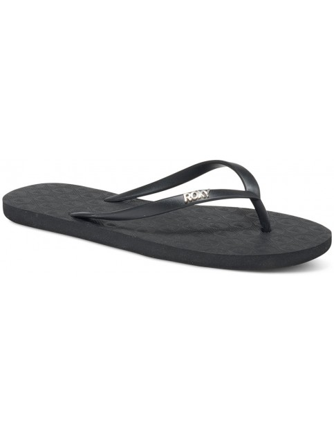 Roxy Viva IV Flip Flops in Black