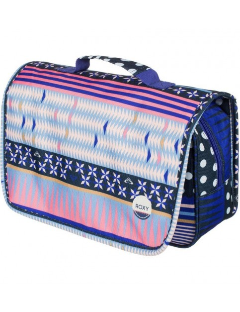 Roxy Waveform Wash Bag in Wintery Geo