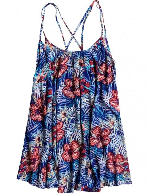 Roxy Windy Fly Away Dress in Royal Blue Beyond Love