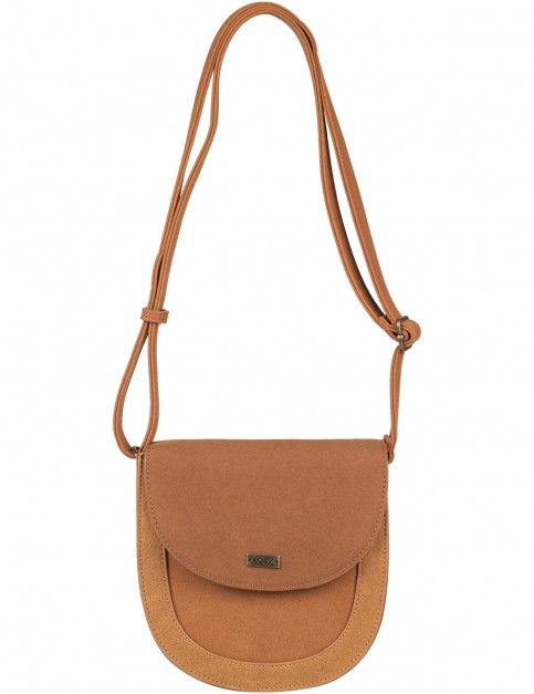 Roxy Winter And Coconut Cross Body Bag in Camel