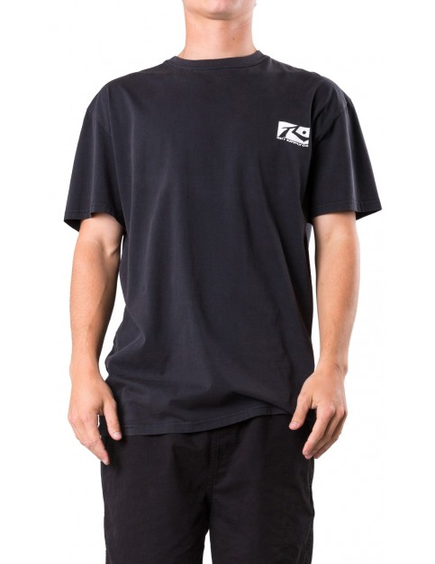 Rusty Comp Box Short Sleeve T-Shirt in Black